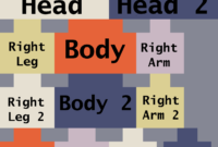 Minecraft Skin Template   Doliquid intended for Minecraft Blank Skin Template