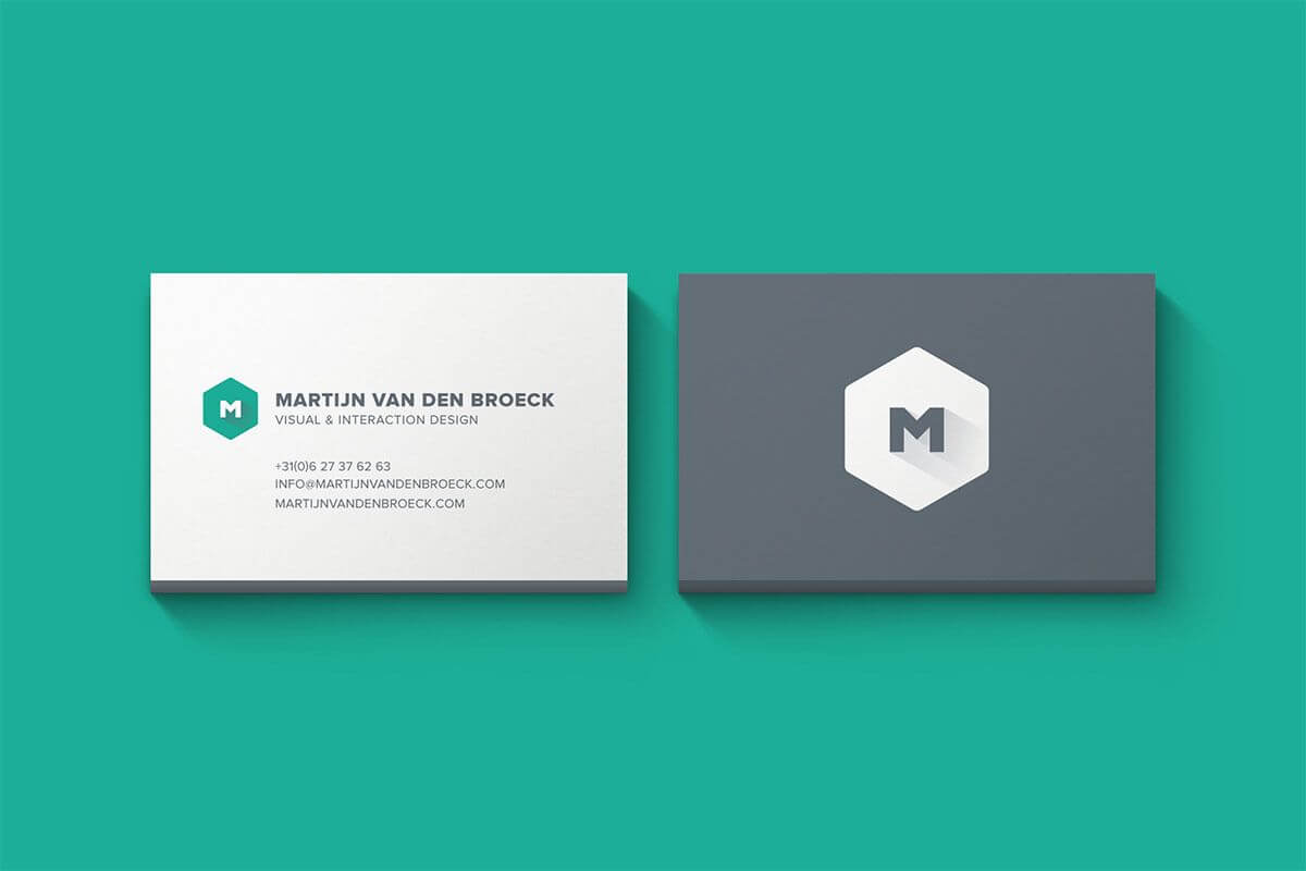 Minimal Business Cards Mockup Psd Template, Available For within Templates For Visiting Cards Free Downloads