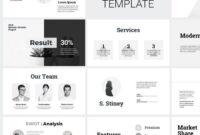 Minimal Clean Business Presentation Powerpoint Template throughout Replace Powerpoint Template