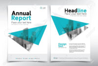 Minimalist Business Cover Page, Vector Template – Can Be Used.. pertaining to Cover Page For Annual Report Template