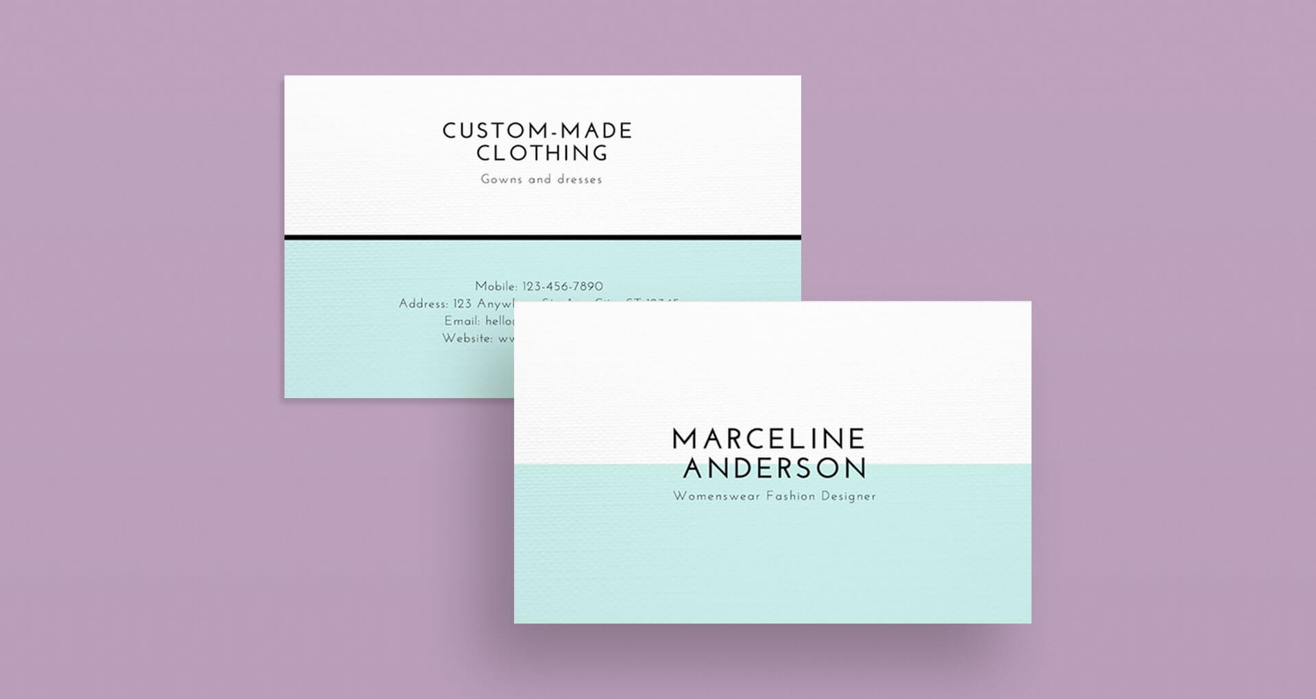 Minimalist Design: 25 Beautiful Examples & Practical Tips within Chance Card Template