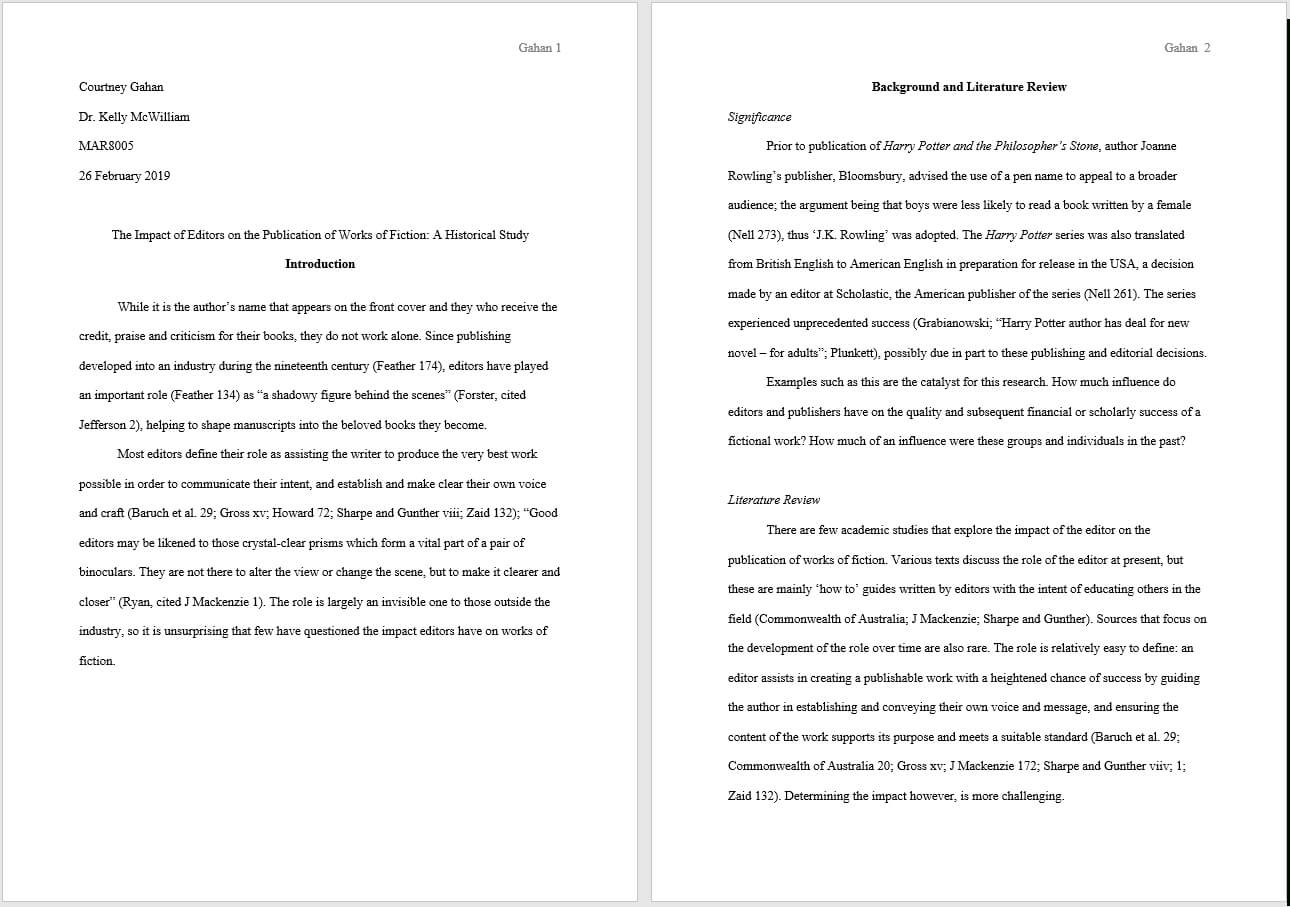 Mla Format For Papers And Essays | Guidelines And Templates inside Mla Format Word Template