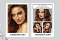 Model Comp Card Template with regard to Zed Card Template Free
