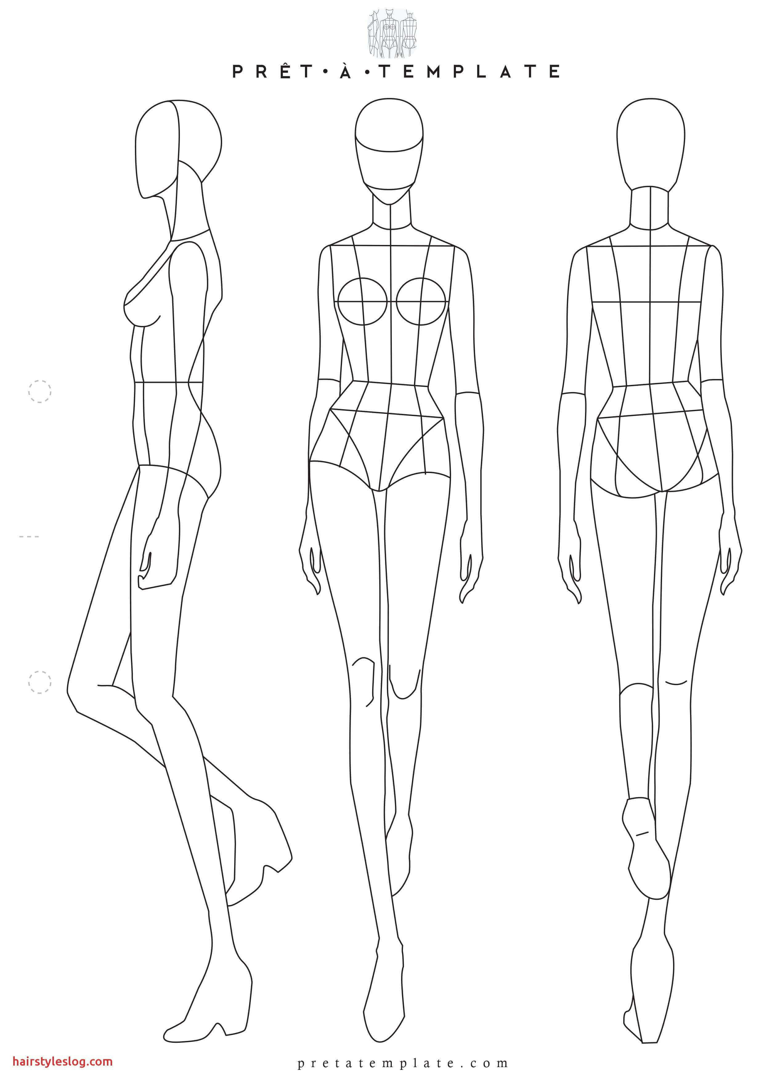 Model Sketch Template At Paintingvalley   Explore inside Blank Model Sketch Template