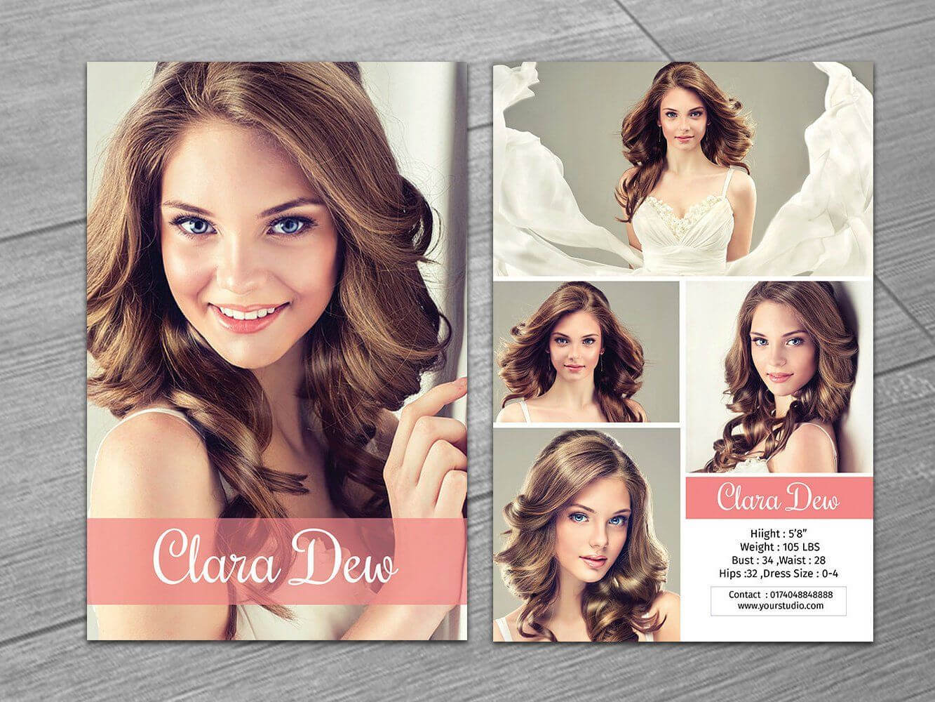 Modeling Comp Card Template | Fashion Model Card | Microsoft within Comp Card Template Download