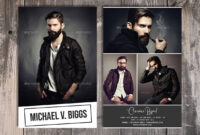 Modeling Comp Card Template, Fashion Model Comp Card with regard to Download Comp Card Template