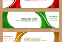 Modern Banner Template, Minimalist Banner Web Template with Tie Banner Template