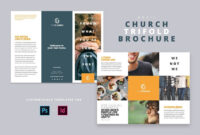 Modern Church Trifold Brochure – Brochures | Design: Graphic pertaining to Welcome Brochure Template