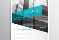Modern Company Brochure Template Presentation for Architecture Brochure Templates Free Download