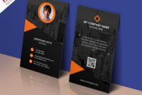 Modern Corporate Business Card Template Free Psd within Psd Name Card Template