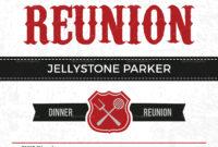 Modern Family Reunion Invitation Card Template pertaining to Reunion Invitation Card Templates