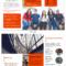 Modern Orange College Tri Fold Brochure Template Template Inside Student Brochure Template