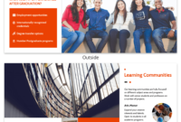 Modern Orange College Tri Fold Brochure Template Template intended for Engineering Brochure Templates