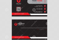 Modern Professional Eye Catching Business Card Design intended for Visiting Card Templates Download
