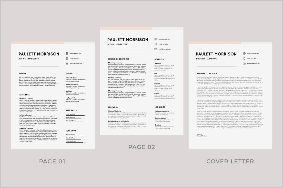 Modern Resume Template Word 2013 – Resume : Fortthomas For Resume Templates Word 2013