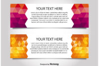 Modern Style Web Banner Templates – Download Free Vectors regarding Free Website Banner Templates Download