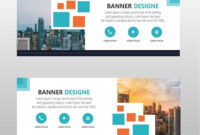 Modern Web Banner Template Free Download | Banner Template regarding Free Website Banner Templates Download