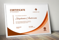 Modern Word Certificate Template intended for Word 2013 Certificate Template