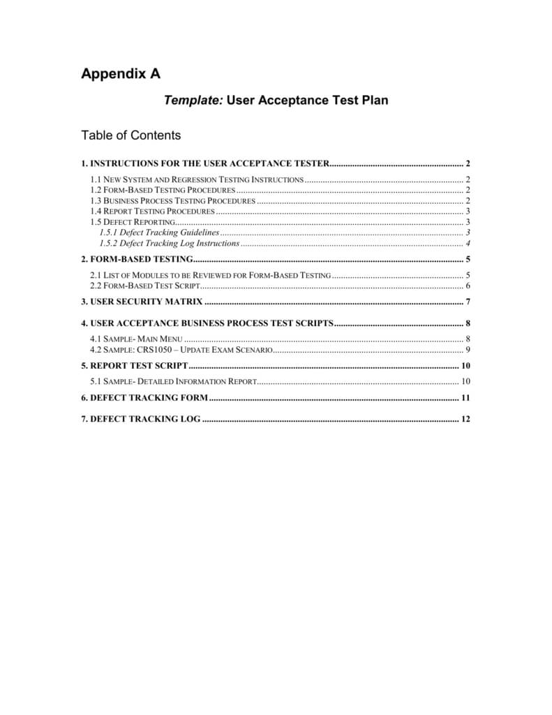 Moe Uat Template with regard to User Acceptance Testing Feedback Report Template