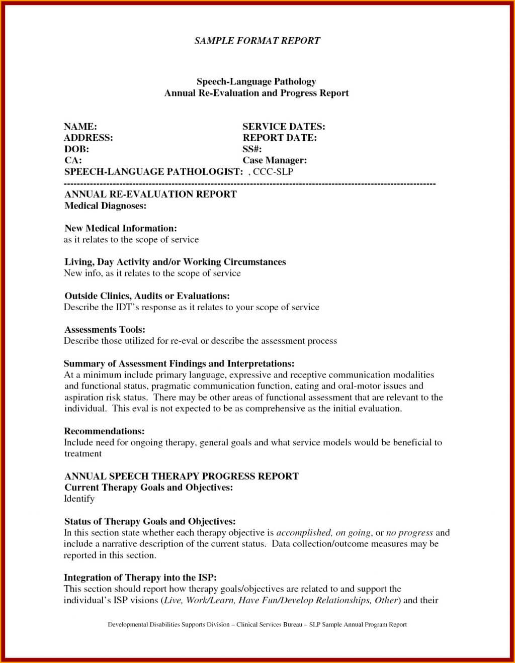Monitoring And Evaluation Report Writing Template In Monitoring And Evaluation Report Template