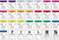 Monopoly+Property+Cards+Template | Monopoly Cards, Monopoly With Monopoly Property Card Template