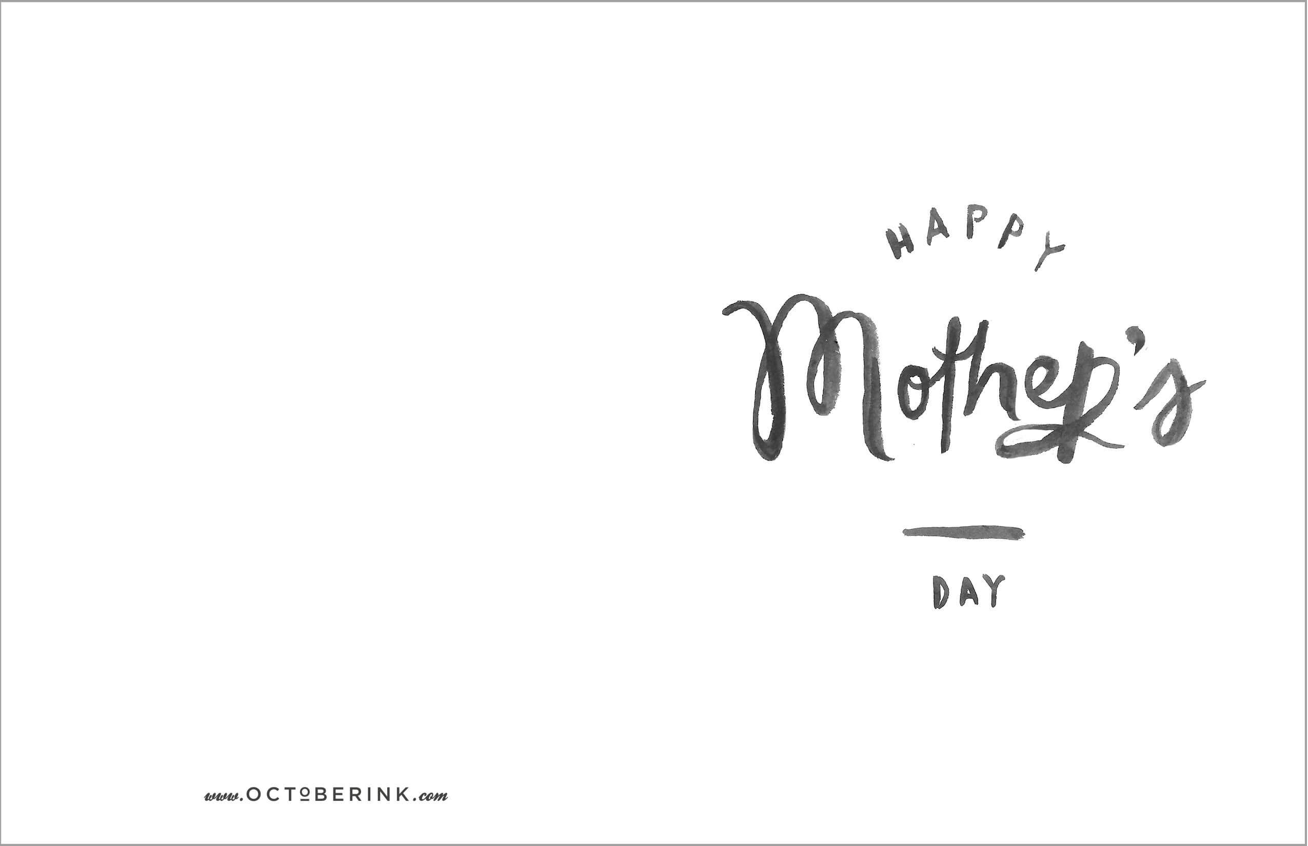 Mothers Day Cards Download #cards #download #mothers throughout Mothers Day Card Templates