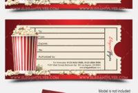 Movie Gift Certificate Psd Printable Regarding Movie Gift Certificate Template