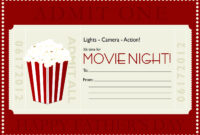 Movie Gift Certificate Templates | Gift Certificate Templates inside Movie Gift Certificate Template
