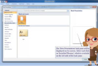 Ms Powerpoint 2007- Creating A Presentation Using Design Template throughout How To Create A Template In Powerpoint