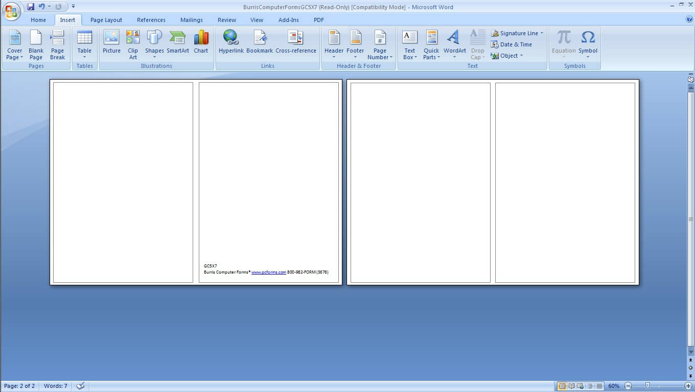 Ms Word Card Templates - Major.magdalene Project Throughout Free Blank Greeting Card Templates For Word