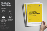 Ms Word Project Proposal Brochure Template | Web Design pertaining to Free Business Proposal Template Ms Word
