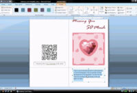 Ms Word Tutorial (Part 1) – Greeting Card Template, Inserting And  Formatting Text, Rotating Text throughout Birthday Card Publisher Template