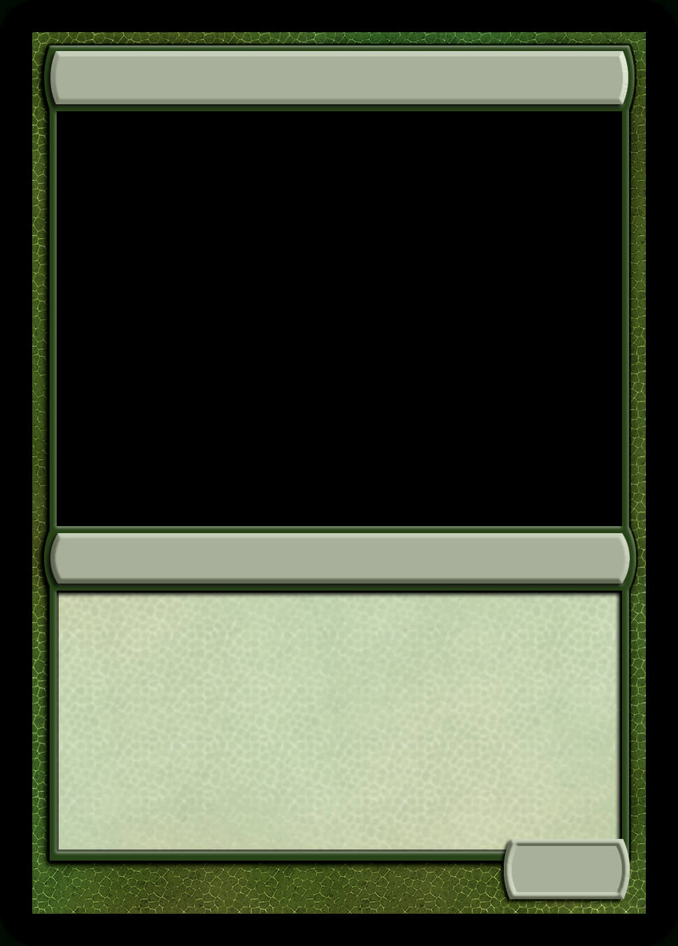 Mtg Monogreen Creature Template | Magic Cards, Magic The With Regard To Magic The Gathering Card Template