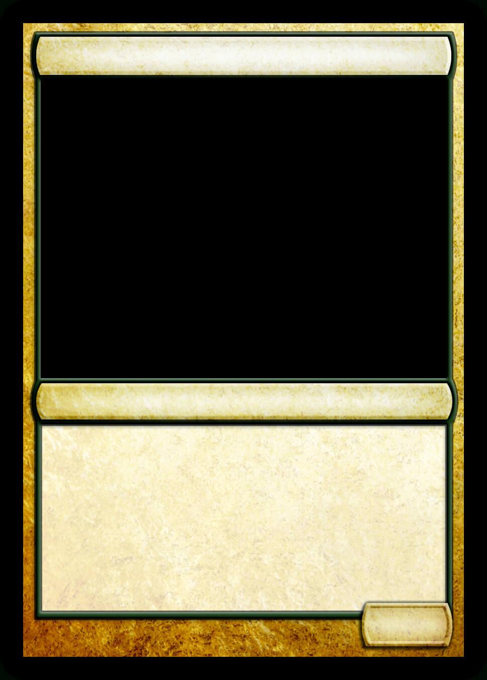 Mtg Multicolor Creature Template   Mtg Templates   Magic The Inside Blank Magic Card Template