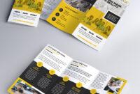 Multipurpose Tri-Fold Brochure Psd Template   Psdfreebies with 3 Fold Brochure Template Psd