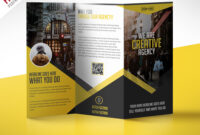 Multipurpose Trifold Business Brochure Free Psd Template inside Creative Brochure Templates Free Download