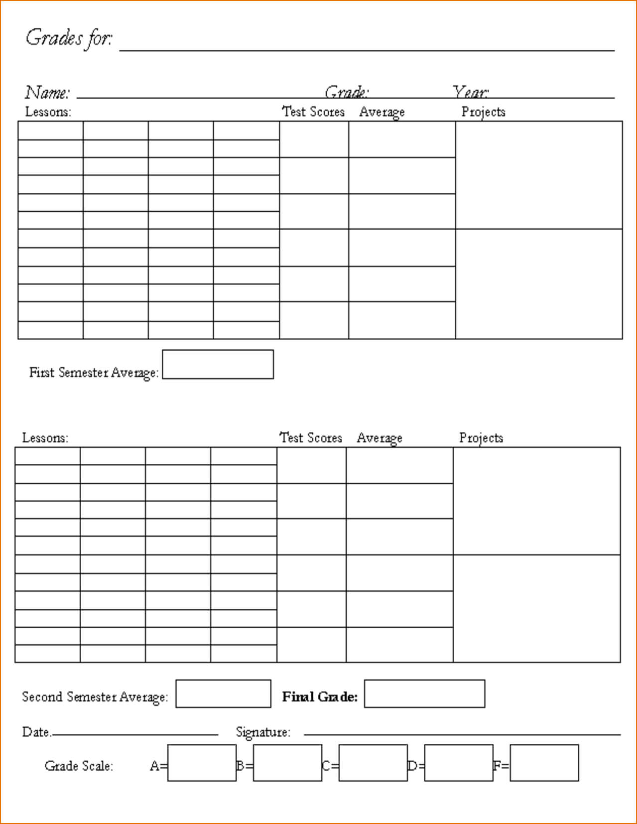 Name Card Template For Kindergarten Throughout Boyfriend Throughout Boyfriend Report Card Template