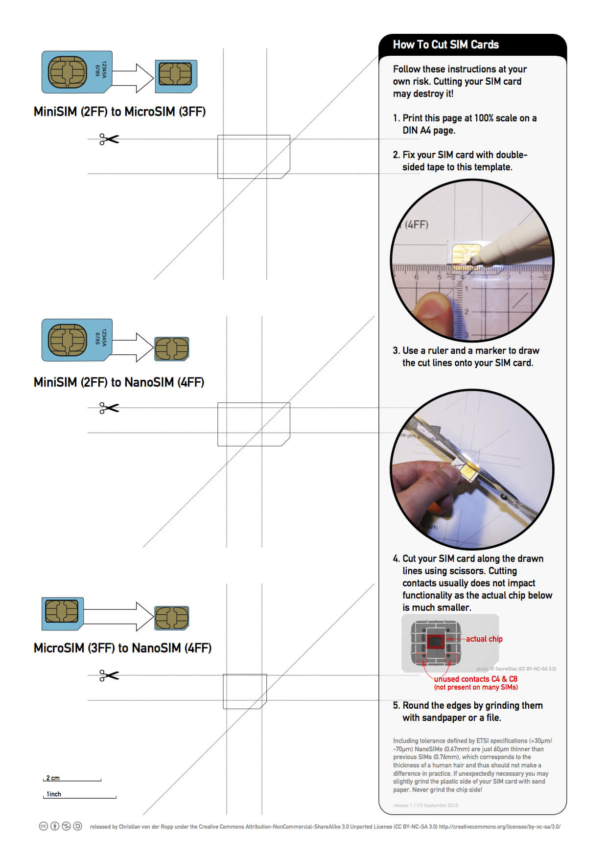 Nano Sim Cutting Guide – Nice Free Printable With Sim Card Template Pdf
