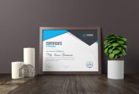 Nemesis Professional Landscape Certificate Template 000847 with Landscape Certificate Templates