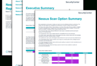 Nessus Scan Summary Report – Sc Report Template | Tenable® regarding Nessus Report Templates
