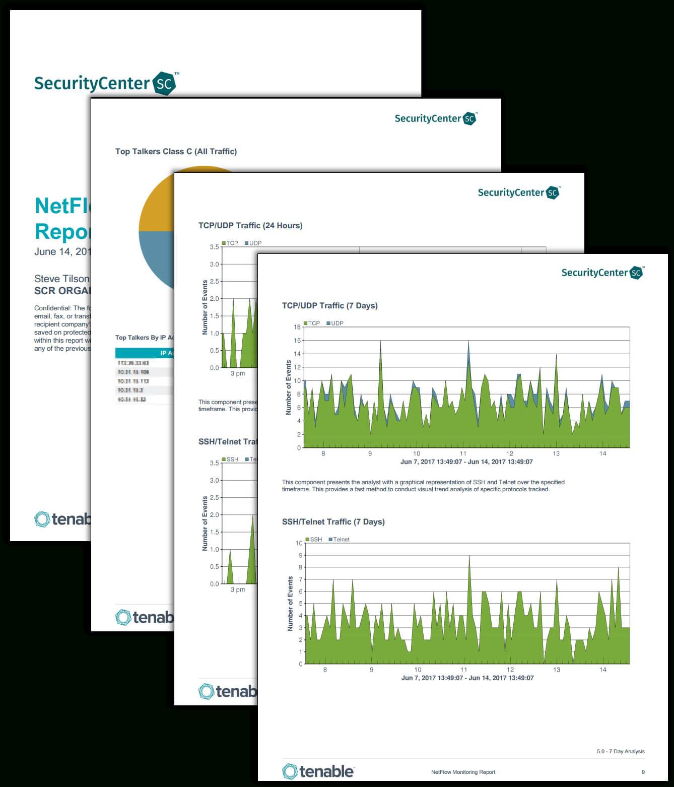 Netflow Monitor Report – Sc Report Template | Tenable® Regarding Network Analysis Report Template