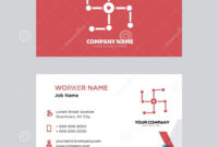 Networking Business Card Design Editorial Image within Networking Card Template