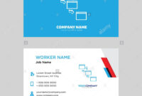 Networking Business Card Design Template, Visiting For Your intended for Networking Card Template