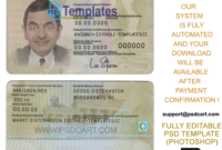 New 2019 Editable Id Card Templates | Business Letters Blog throughout Georgia Id Card Template