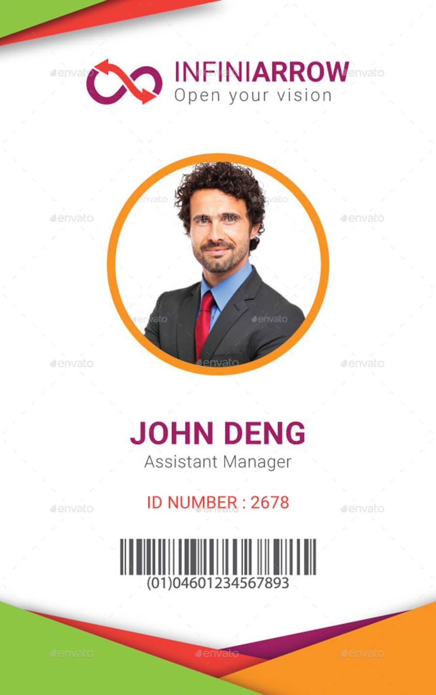 New 2019 Editable Id Card Templates | Business Letters Blog Throughout Portrait Id Card Template