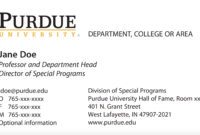 New Business Card Template Now Online – Purdue University News inside Student Business Card Template