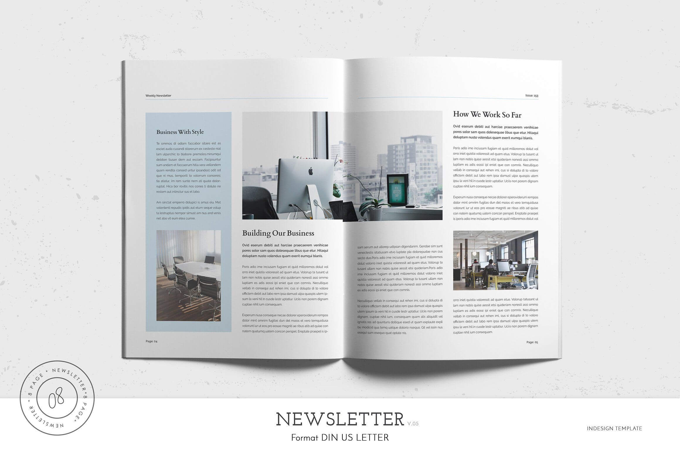Newsletter Template #letter#brochure#paper#size in Letter Size Brochure Template