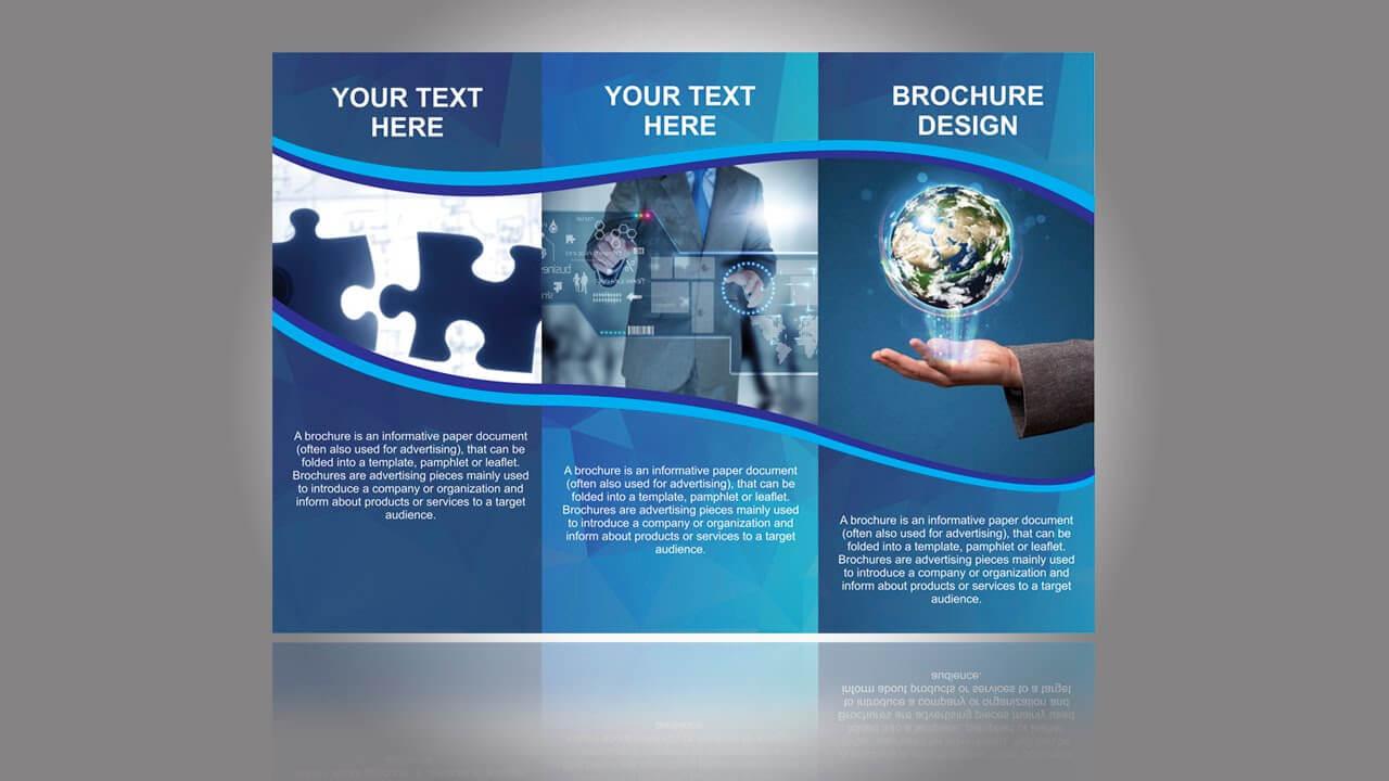 Ngo Brochure Templates Design In Coreldraw Tutorial Part 1 pertaining to Ngo Brochure Templates