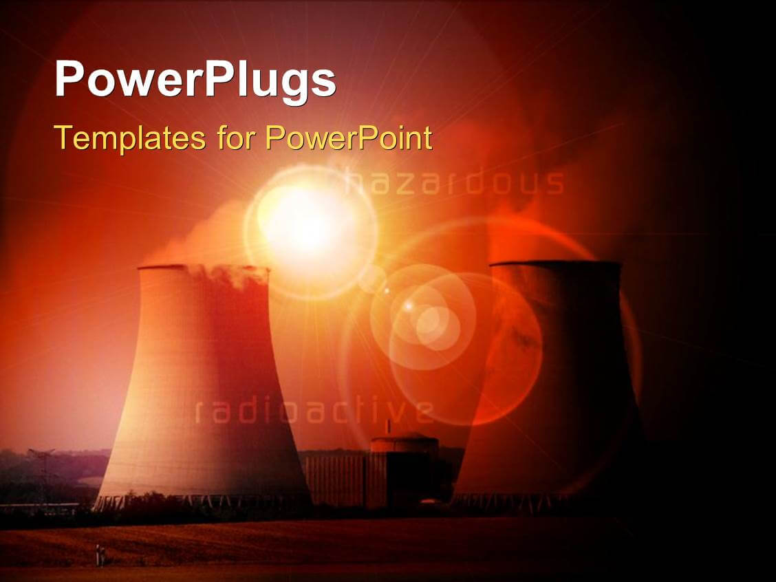 Nuclear Powerpoint Templates W/ Nuclear Themed Backgrounds Throughout Nuclear Powerpoint Template