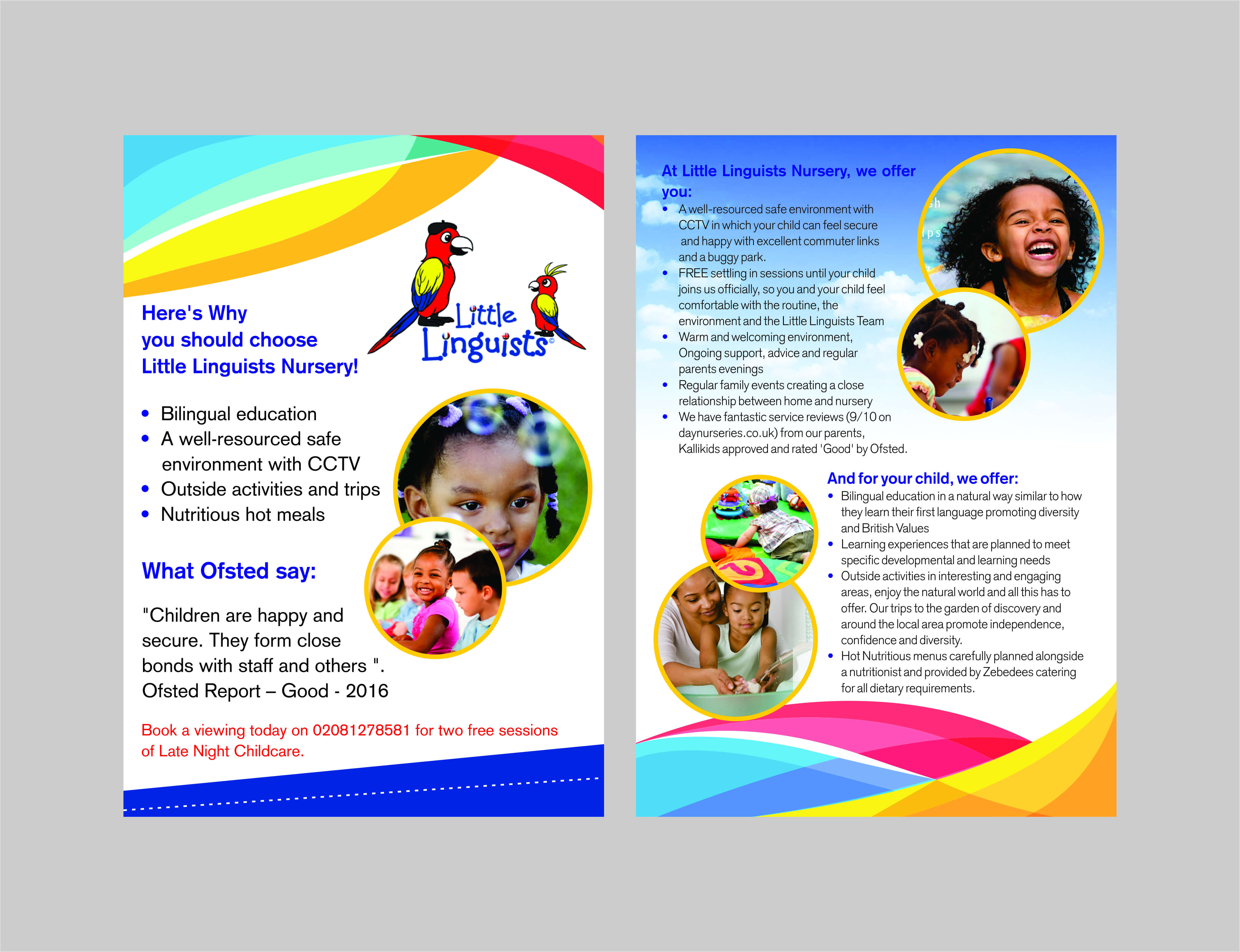 Nursery School Brochure – Yupar.magdalene Project Pertaining To Play School Brochure Templates